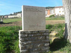 Cartel Camino Cid