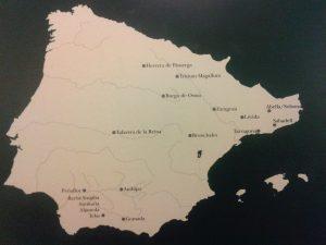 Mapa Terra Sigillata Hispania