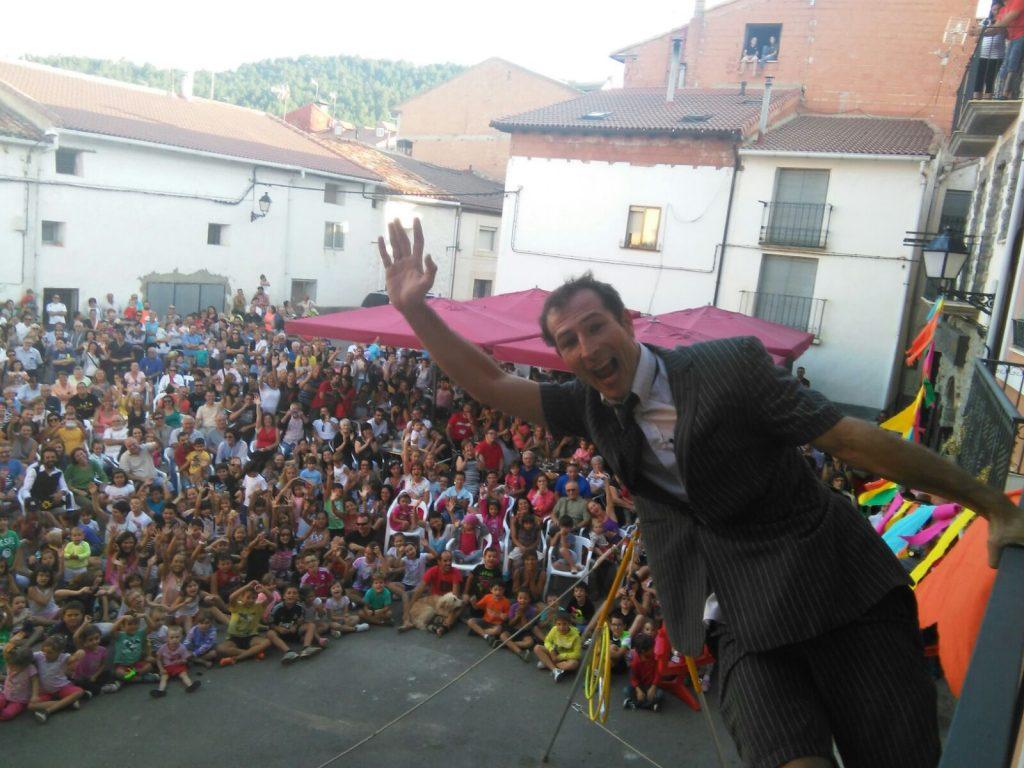 Festival del año 2015 Momento de Actuación de Circovito