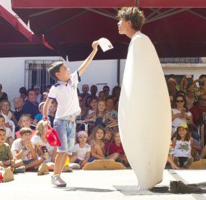 Festival Carabolas 2015 Momento de Actuación de Kikolas