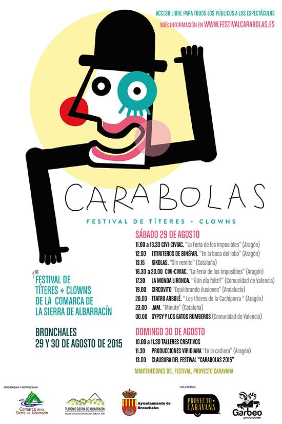 Fotografía del Cartel de la primera edición del Festival