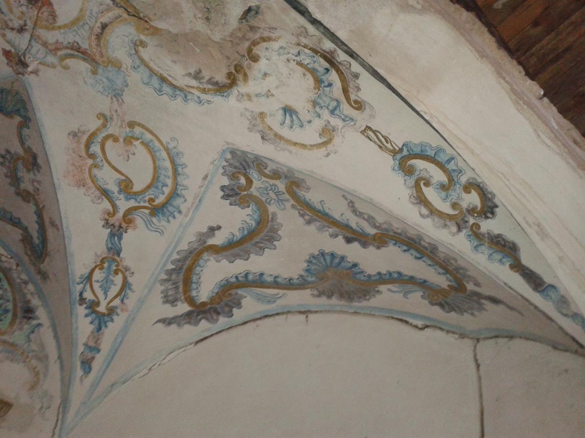 Foto de los restos encontrados en el interior de la Ermita de la Jara, Patrimonio cultural de Bronchales