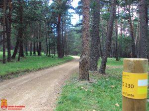 PR-TE 130 Poste ruta Marca Agua