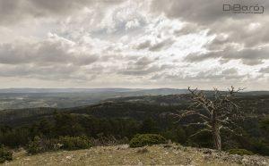 PR-TE 131 Vistas desde Sierra Alta. Imagen cedida por Dibaró Recuerdografía.