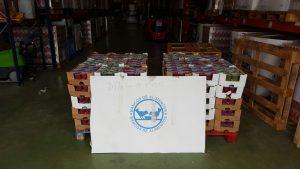 Donación Trail Bronchales Banco Alimentos 1