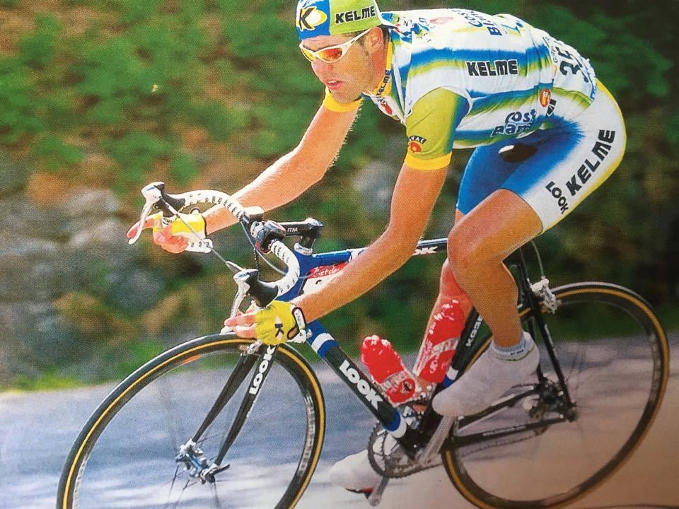 Fotografía del exciclista profesional José Enrique Gutiérrez Cataluña, alias Guti, director de la carrera BTT Bronchales Sierra Alta