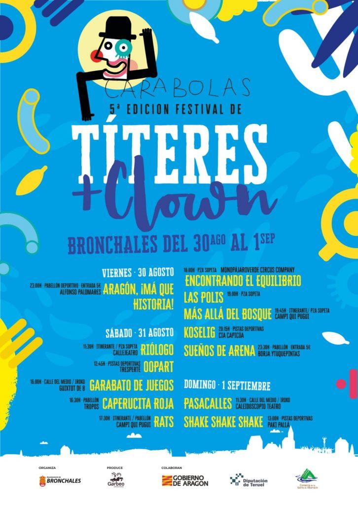 Foto del cartel del Festival Carabolas 2019