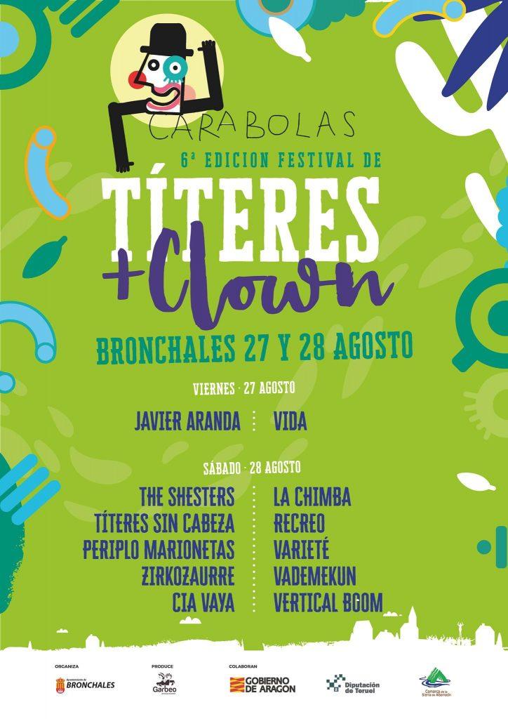 Cartel del Festival Carabolas 2021